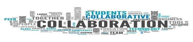 """Word Cloud """"Collaboration"""""""